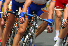 Photo of cyclists