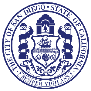 Photo of San Diego official city seal