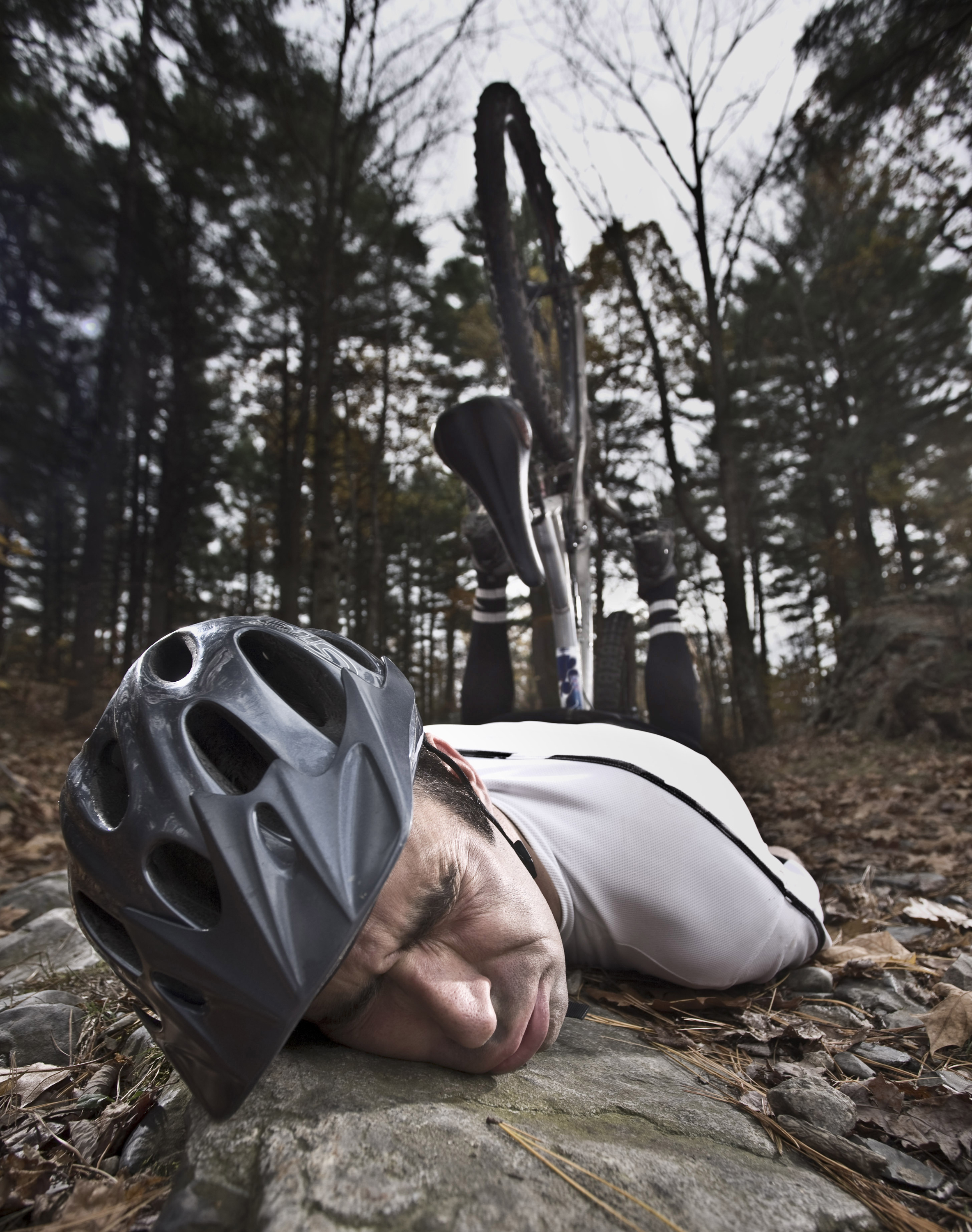 Photo of a bicycle accident