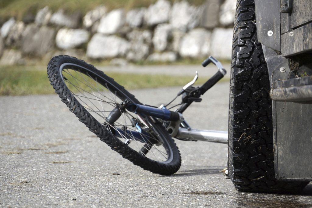 Road Bike Accident