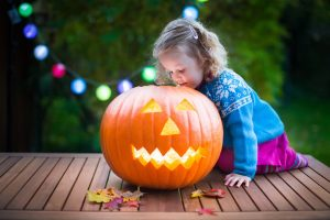 Halloween injuries trick-or-treater