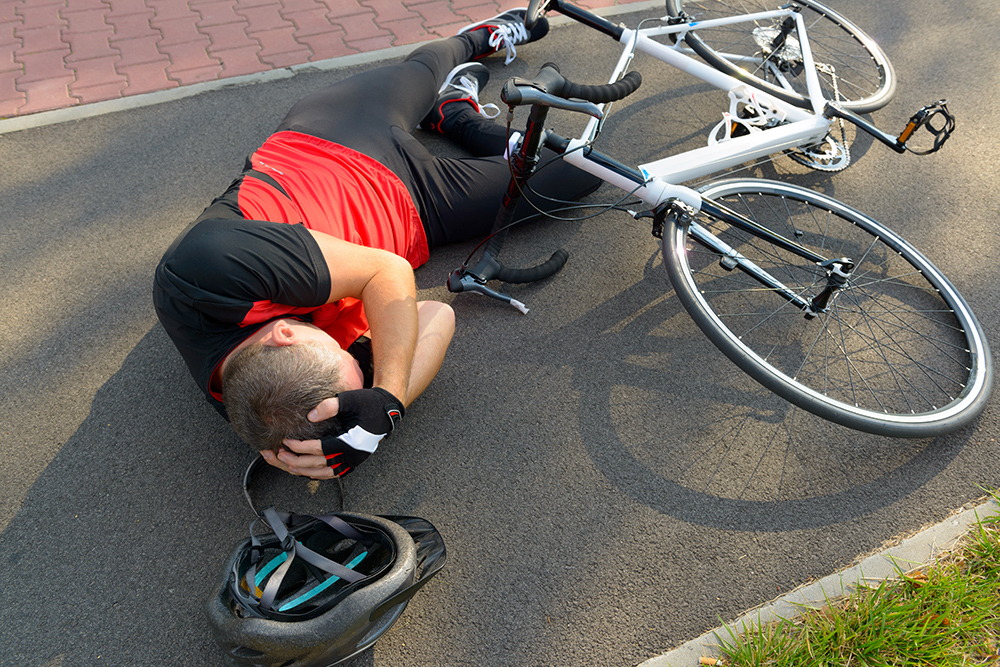 Who is liable in a bicycle accident?
